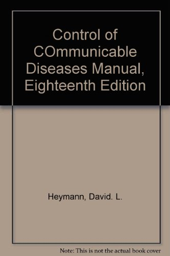 Control of COmmunicable Diseases Manual, Eighteenth Edition PDF