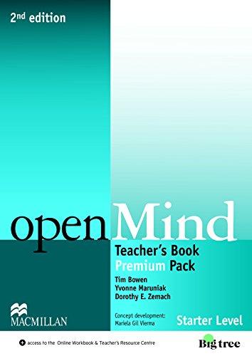 Open Mind 2nd Edition AE Starter Level Teacher's Edition Premium Pack
