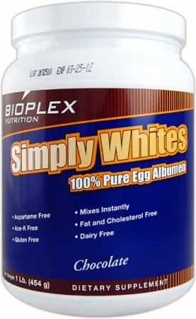 100% pures naturelles blancs d'oeufs - 1 lb,