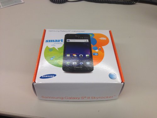 Link to Samsung Galaxy S II Skyrocket SGH-I727 – 16GB – Black (AT&T) Smartphone – New – Contract-free Get Rabate