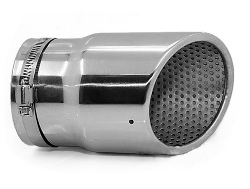 Auto parts Stainless Steel Chrome Exhaust Muffler Tip Tailpipe Fits For Audi Q7 3.6TFSI 3.0TDI Chrome