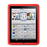41zGdeVZtOL. SL160  Quality Red iPad Silicone Skin for Apple ipad Tablet wifi + 3G model  + Vangoddy Live * Laugh * Love Wrist band