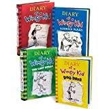 Diary of a Wimpy Kid, Books 1-4: Diary of a Wimpy Kid, Rodrick Rules, The Last Straw, and Dog Days (Hardcover) (Diary of a Wimpy Kid, Books 1-4)