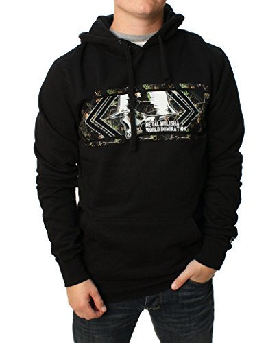 Metal Mulisha Mens Tempt Hoody Pullover Sweatshirt X-Large Black