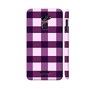 Colorpur Purple Small Square Tiles Pattern Artwork On Coolpad Note 3 Lite Cover (Designer Mobile Back Case)   Artist: Designer Chennai