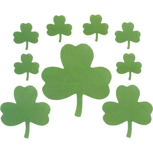 Shamrock Cutout Assortment (9 ct)