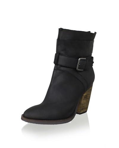 Steven by Steve Madden Women's Riskey Boot  - Black Leather