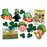 St Patrick Decorama Party Accessory (1 count) (12 Pkg)
