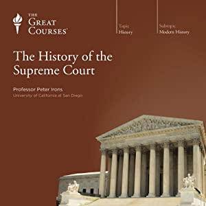 The History of the Supreme Court | [The Great Courses, Peter Irons]