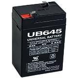 UPG UB645 Sealed Lead Acid Batteries