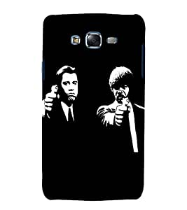 printtech Pulp Fiction Hollywood Design Back Case Cover for Samsung Galaxy J2 / Samsung Galaxy J2 J200F