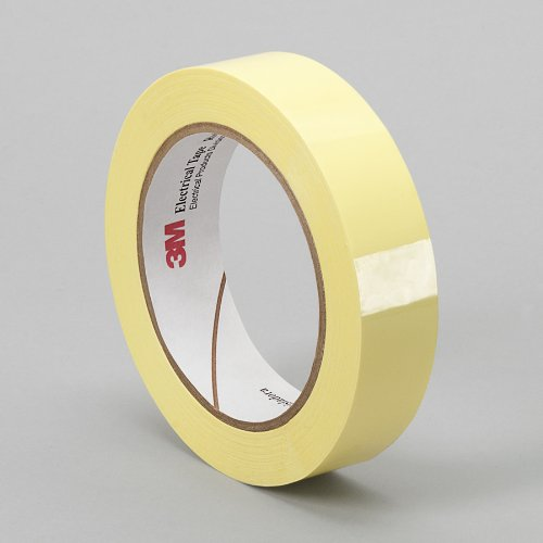 Tapecase 1350F-1Y 0.75In X 72Yd Yellow Electrical Tape (1 Roll)