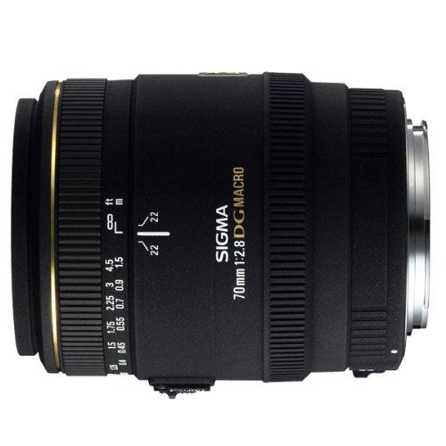 Sigma 70mm f2.8 EX DG Macro Lens For Nikon Digital  &  Film Cameras (Manual Focus Only With Nikon D40/D40X)