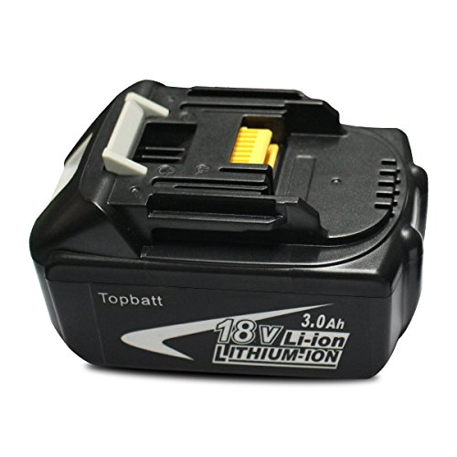 Topbatt BL1830 194204-5 18 Volt 3.0Ah Lithium-Ion Replacement Battery for Makita Tools (18 Volt Lithium Ion Battery compare prices)