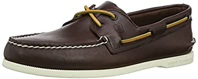 Sperry Top-Sider Men's A/O 2 Eye Boat Shoe,Brown,7.5 M US