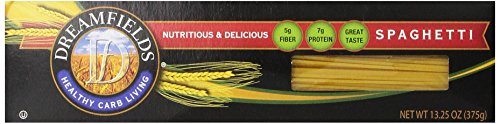 Dreamfields Pasta Healthy Carb Living, Spaghetti, 13.25-Ounce Boxes (Pack of 5) (Pasta Spaghetti Box compare prices)
