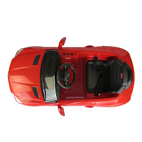 mercedes benz slk class 6v kids electric ride on car with mp3 and remote control red