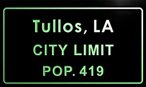 Amazon.com - t83626-g Tullos town, LA City Limit Pop 419 Indoortullos town