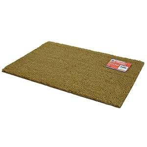 natural coir rectangular door mat kingfisher patio lawn garden