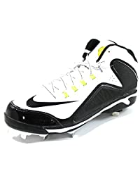 Nike Men's Swingman MVP 2 MD Metal Stud Black Baseball Cleats