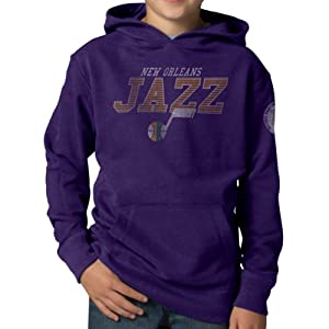 NBA New Orleans Jazz Playball Hoodie Jacket, Grape by