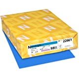 Neenah Astrobrights Premium Color Paper, 24 lb, 8.5 x 11 Inches, 500 Sheets, Celestial Blue