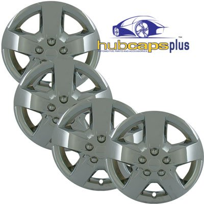 Set of Four Replica 16 inch Chrome Chevy Malibu HHR Hubcaps - Wheel Covers