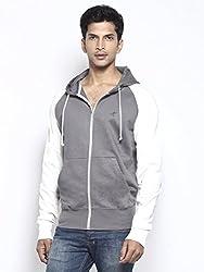 Kailash Hoody Sweatshirt in Fair Trade Organic Cotton Fleece Brushed