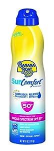 Banana Boat Sunscreen Sun Comfort Broad Spectrum Sun Care Sunscreen Lotion