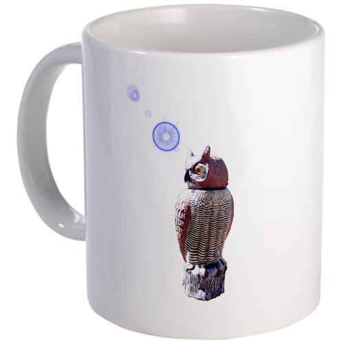 Cafepress Mr. Owl Hot Beverage Container Aka Mug - Standard