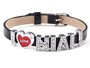 Black I Love Niall One Direction Wristband Wrist Band Bracelet I Love 1d from Yiwu City Yinuo E-Commercial Business Co.,Ltd