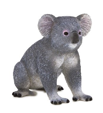 1 X Mojo Fun 387105 Koala Bear - Realistic International Wildlife Toy Replica