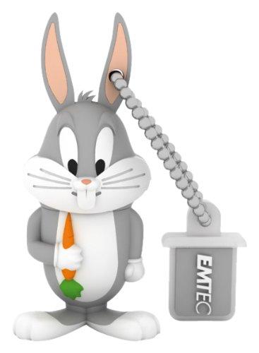 EMTEC Looney Tunes 4 GB USB 2.0 Flash Drive, Bugs Bunny