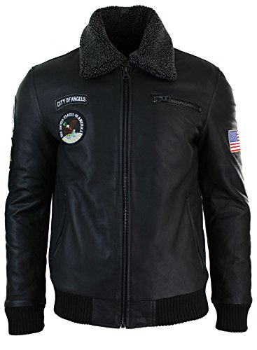 mens-slim-fit-aviator-flying-pilot-bomber-us-air-force-jacket-fur-collar-real-leather