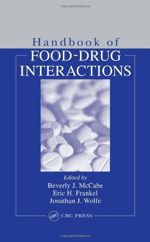 Handbook of Food-Drug Interactions (Nutrition Assessment)