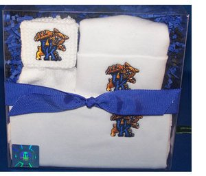 Kentucky Wildcats Boxed 3 Piece Baby Gift Set by Future Tailgater