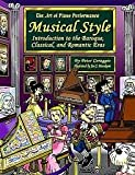 img - for Musical Style book / textbook / text book