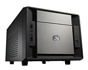 Cooler Master Elite 120 Advanced - Mini-ITX Computer Case with USB 3.0 and Long Graphics Card Support