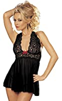 Shirley of Hollywood Women's Flattering and Fabulous Haltered Babydoll