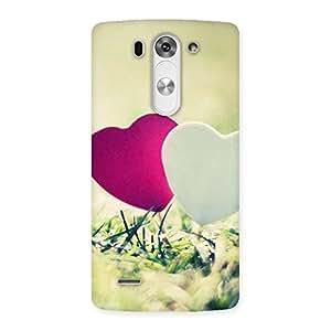 Ajay Enterprises Cople Heart Back Case Cover for LG G3 Beat