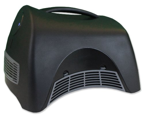 Heat Storm HS-1500-ISA Sahara Infrared Heater, Black