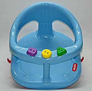 baby bath tub ring seat new in box by keter blue or. Black Bedroom Furniture Sets. Home Design Ideas