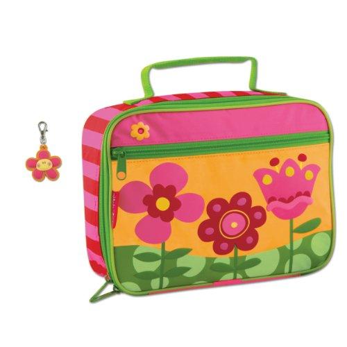 Stephen Joseph Flower Lunch Box And Flower Zipper Pull Charm front-1026644