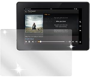 dipos Amazon Kindle Fire HD 7 Zoll Modell 2013 Schutzfolie (2 Stück) - kristallklare Premium Folie Crystalclear