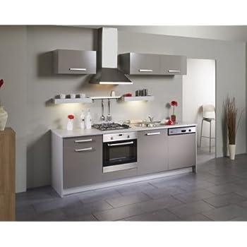 Pas cher les meubles olivier cuisine encastr e for Cuisine encastree