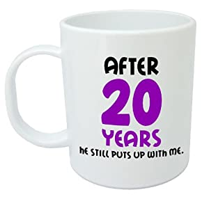 20th Wedding Anniversary Gift Ideas Uk : +Anniversary+Gifts 20 Years He Still Puts Up With Me20th Wedding ...