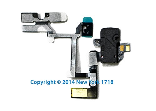 Gsm Iphone 4 Headphone Jack And Volume Control Flex Cable (Black)-Ny1718