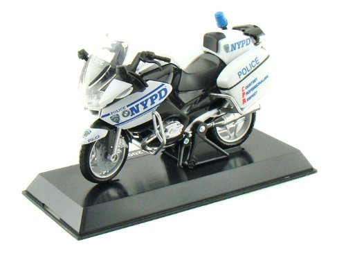 BMW R1200RT-P NYPD Police Motorcycle 1/18 NYPD