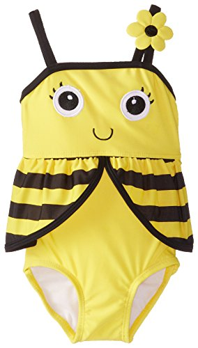 Candlesticks Baby-Girls Infant Bumble Bee Yellow Swim Suit
