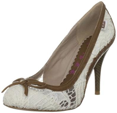 Killah Rosy M00777_LS9468_O19020 - Zapatos de vestir de tela para mujer, color beige, talla 40